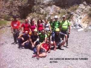 XIX Curso de Monitor de Turismo Activo