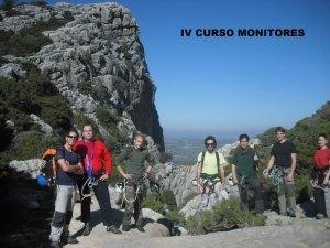 IV CURSO MONITORES_
